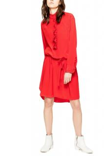 Zadig & Voltaire Rizzo Silk-Crepe Shirt Dress