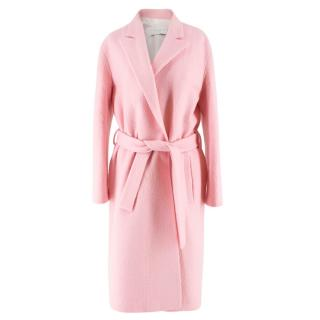 Sandro Pink Wool Coat