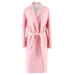 Sandro Pink Wool Coat