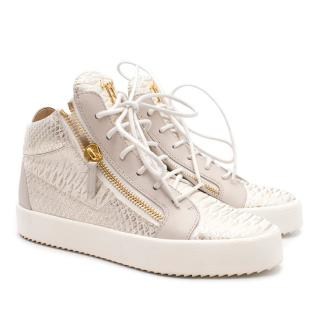 Giuseppe Zanotti Python High-top Sneakers