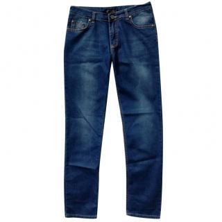 Philipp Plein Boy's Miami Cut Blue Denim Jeans