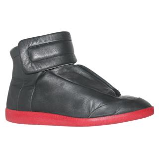 Maison Martin Margiela High Tops with Red Soles
