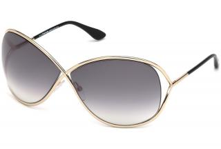 Tom Ford Rose Gold and Black Miranda Sunglasses