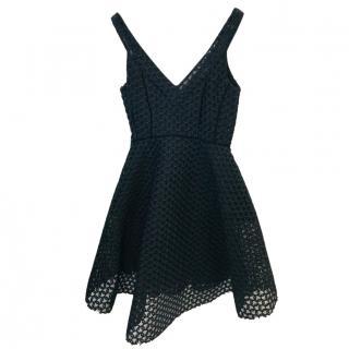 Maje Textured Sleeveless Dress