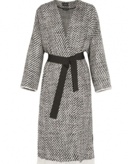 Isabel Marant Iban Frayed Wrap Coat