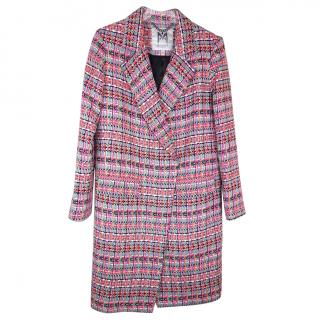 Milly Couture Cleo Tweed Coat