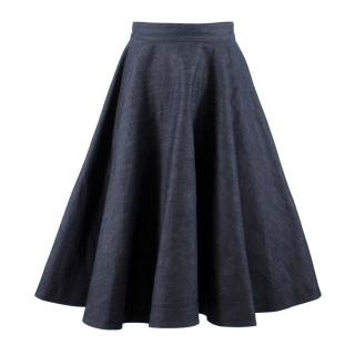 Calvin Klein 205W39NYC Denim Circle Skirt