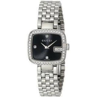 Gucci 1.01 ct Diamond encrusted bezel G-Gucci Watch