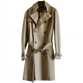 Ralph Lauren Black Label beige trench coat