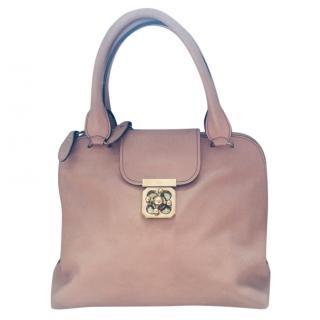Chloe Elsie Dusky Pink Large shoulder bag