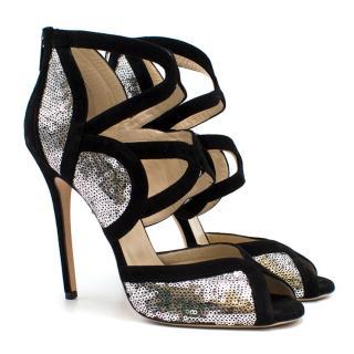 6335cbce38c9 Jimmy Choo  Tempest  Sequin Sandal