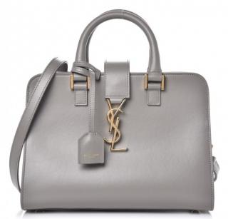 Saint Laurent Fog Grey Baby Cabas Bag