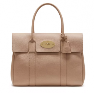 Mulberry Rosewater Small Classic Grain Heritage Bayswater