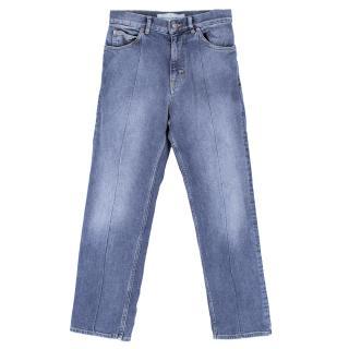 Golden Goose Deluxe Brand Mid-wash Straight Leg Jeans