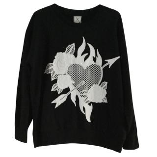 Each X Other black and white sweatshirt