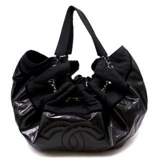 Chanel Vintage Slouchy PVC Shoulder Bag