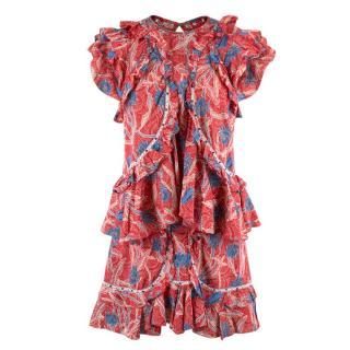 Isabel Marant Floral Top & Skirt