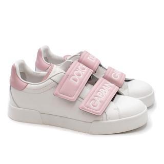 Dolce & Gabbana Double Velcro Sneakers