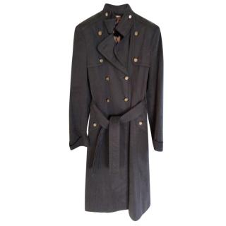 Dolce and Gabbana belted trench coat