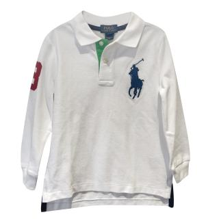 New Boys Polo Ralph Lauren Classic Top