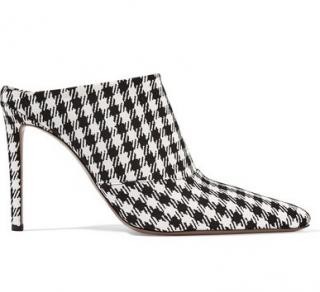 Altuzarra Houndstooth Davidson Houndstooth Mules Shoes