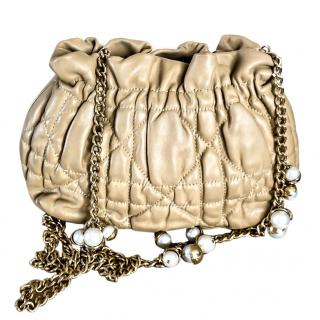 Dior bag with pearls