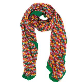 Marella Accessori Bright Abstract Modal Scarf