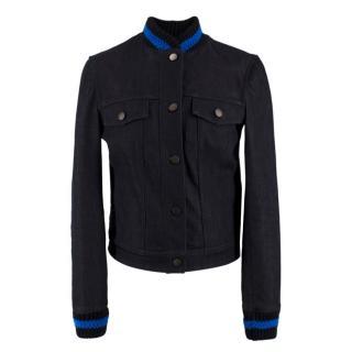 Stella McCartney Dark Wash Denim Jacket