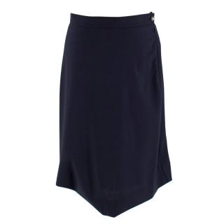 Vivienne Westwood Red Label Navy Asymmetric Skirt