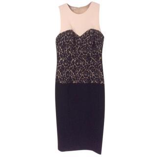 Michael Kors crepe bodice dress