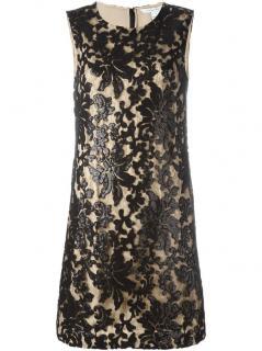 Diane Von Furstenberg sequinned lace Kaleb dress