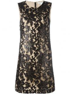Diane Von Furstenberg sequinned lace Kaleb dress