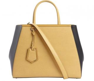 Fendi 2jours Tricolor Medium Tote Bag