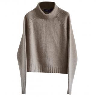 Ralph Lauren Collection cropped cashmere jumper