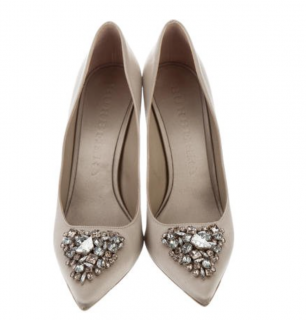 Burberry Gem-Embellished Pumps