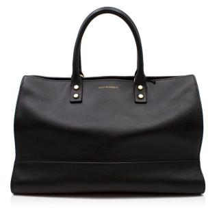 Lulu Guinness Smooth Leather Daphne Tote Bag