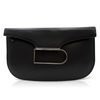 Delvaux Box Calf Double Je Clutch Bag - Current Season