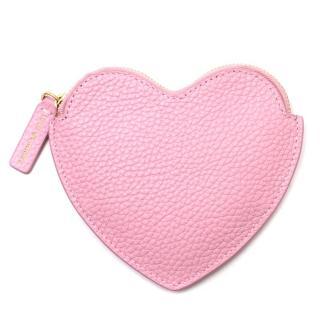 Lulu Guinness Pink Heart Coin Purse