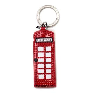 Lulu Guinness London Phone Booth Boxed Keyring