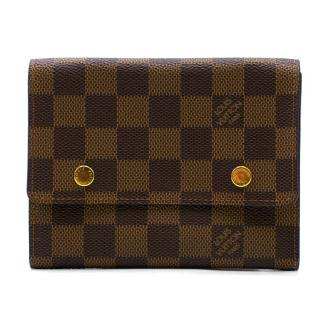 Louis Vuitton Damier Ebene Canvas Card Wallet