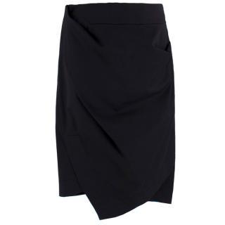Vivienne Westwood Gathered Side Asymmetric Pencil Skirt