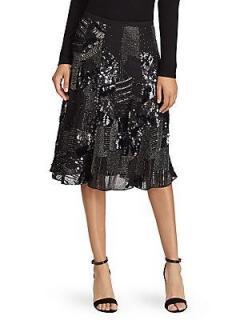 Polo Ralph Lauren Embellished Midi Skirt Size