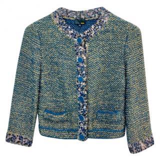Fendi Knit Tweed Jacket