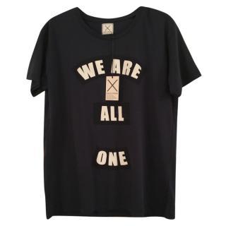 Each x Other black cotton t shirt