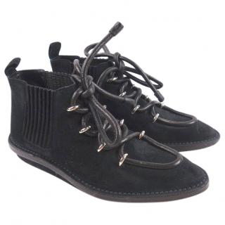 balenciaga lace-up moccasins