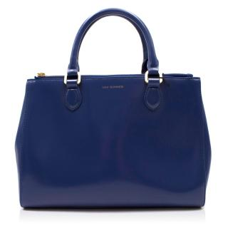 Lulu Guinness Amelia Medium Leather Tote Bag
