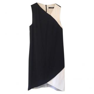 Givenchy Black & White Asymmetric Dress