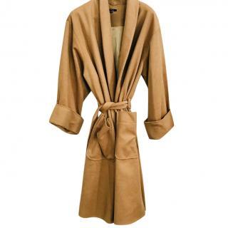 Raoul camel cashmere coat