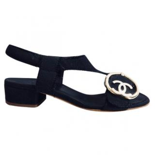 Chanel Heart Buckle Sandals