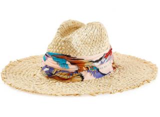 Emilio Pucci Straw Sun Hat